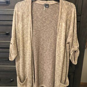 Tan Cardigan Sweater
